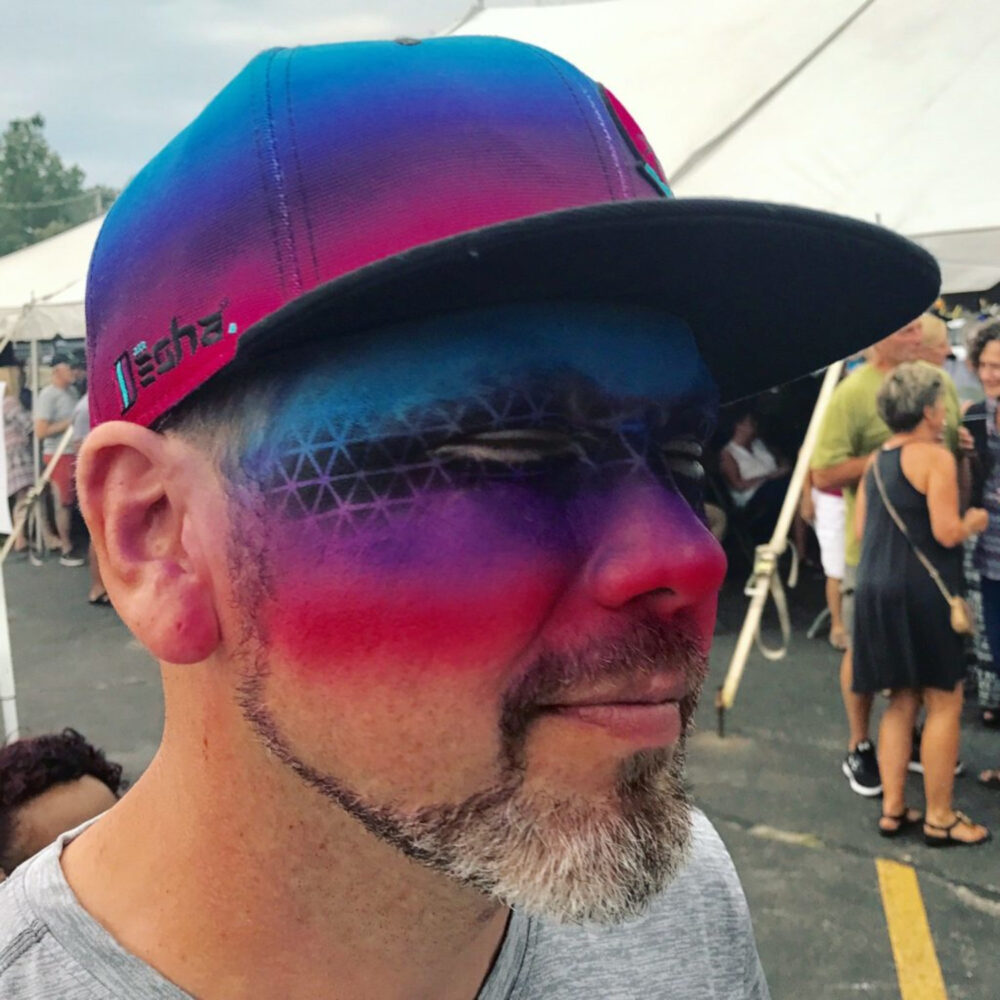 Face Paint to make a Hat