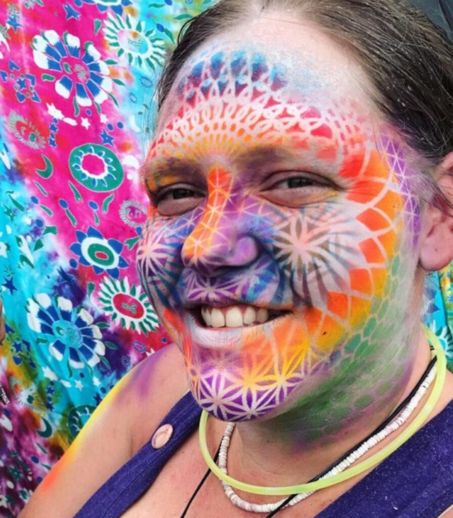 Vibrant Face Paint